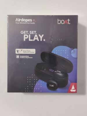 boAt Airdopes 121v2 Black