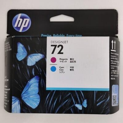 HP 72 Printhead, Magenta and Cyan, C9383A