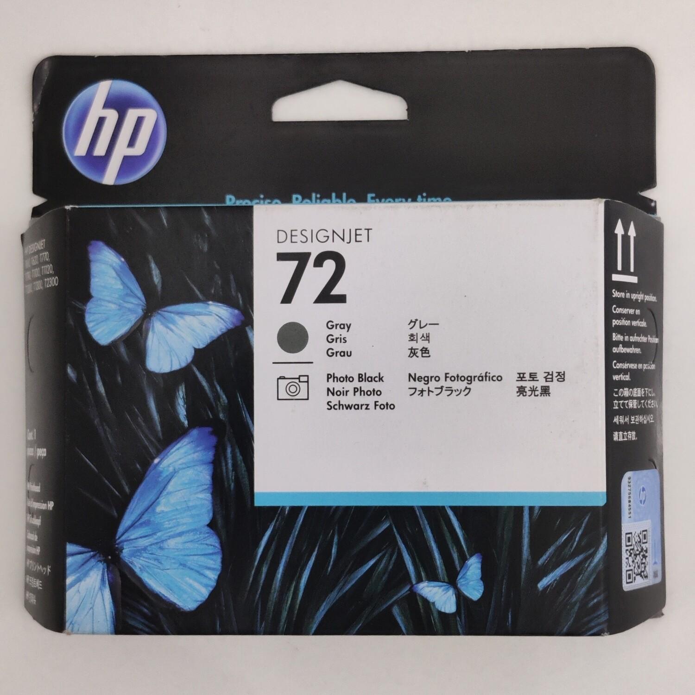HP 72 Printhead, Gray and Photo Black, C9380A
