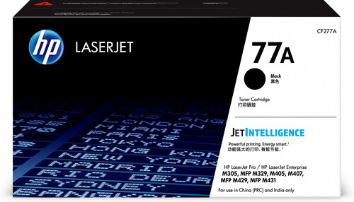 HP 77A  Toner Cartridge Black CF277A
