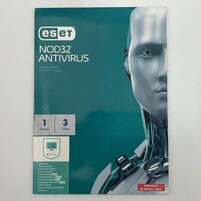 1 User, 3 Year, Eset Antivirus, NOD32