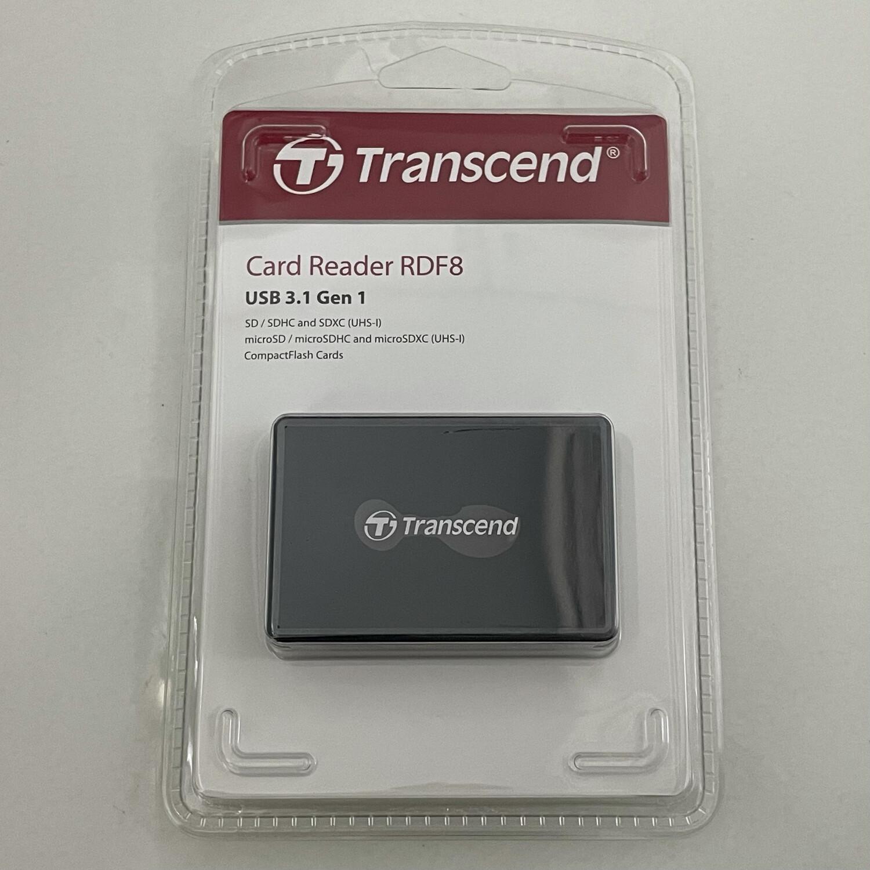 Transcend TS-RDF8K2 USB 3.1 Multi Card Reader