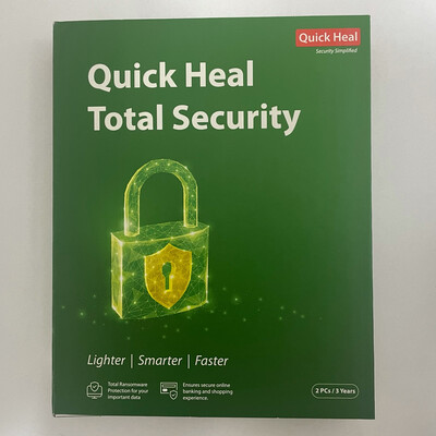 2 User, 3 Year, Quick Heal Total Security