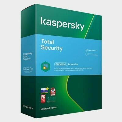 2 User, 1 Year, Kaspersky Total Security