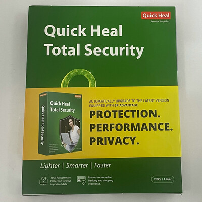 2 User, 1 Year, Quick Heal Total Security