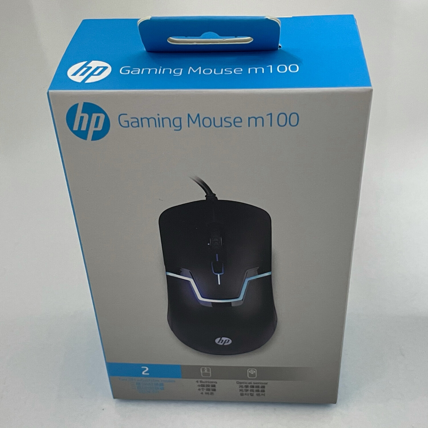 HP M100 Gaming Optical Mouse