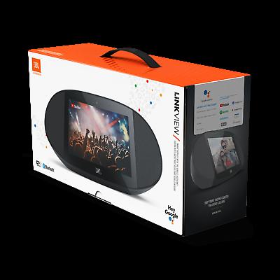 JBL Link View, Black, Voice-Activated Wireless Smart Speaker