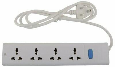 Bull 4 Sockets, 1 Switch Circuit Breaker 1.5mtr Extension Board
