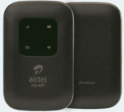 Airtel 4G LTE Hotspot BMF422 Portable WiFi Data Card,Black