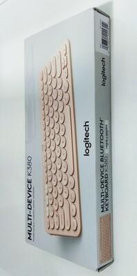 Logitech K380 Wireless Multi-Device Bluetooth Keyboard, Rose Gold