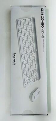 Logitech MK470 Slim Wireless Combo, Off White