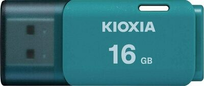 Kioxia U202 16GB USB2.0 PenDrive Light Blue LU202L016GG4