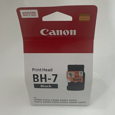 Canon BH-7 Black Printhead