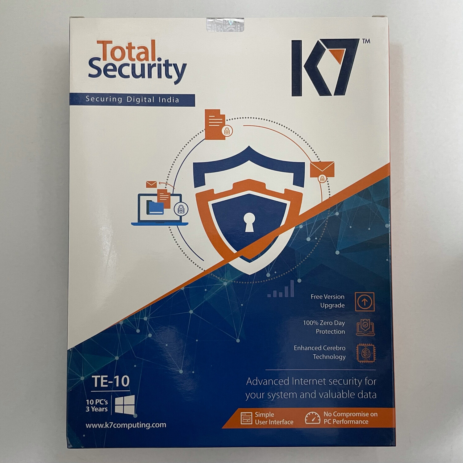 10 User, 3 Year, K7 Total Security