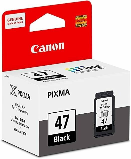 Canon 47 Ink Cartridge, Black