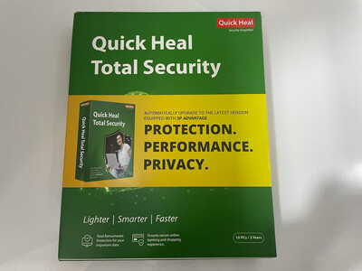 10 User, 3 Year, Quick Heal Total Security