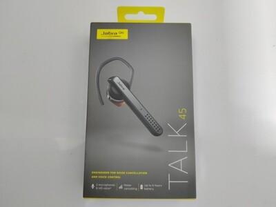 Jabra Talk 45 Bluetooth Headset Black