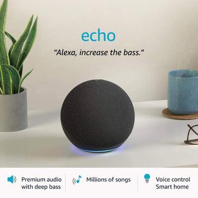 Amazon All-new Echo (4th Gen) (Black)