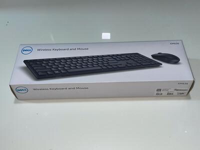 Dell KM636 Wireless Keyboard Mouse, Black