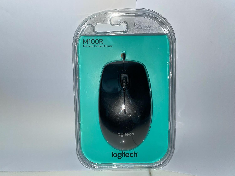 Logitech M100r USB Mouse