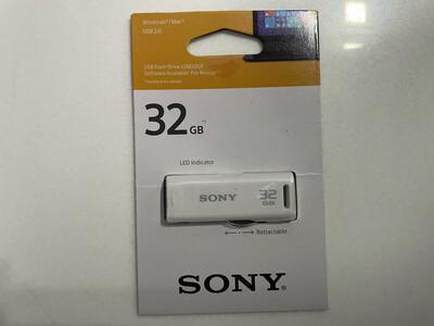 Sony 32Gb Pen Drive, GR 2.0, White