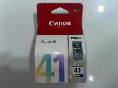 Canon 41 Ink Cartridge, Tri Color