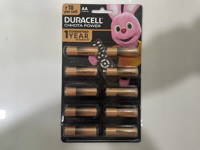 Duracell Chhota Power AA, 10 Batteries