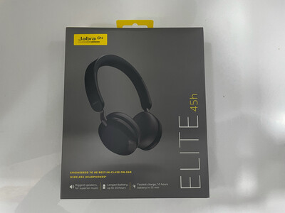 Jabra Elite 45h, On-Ear Wireless Headphones