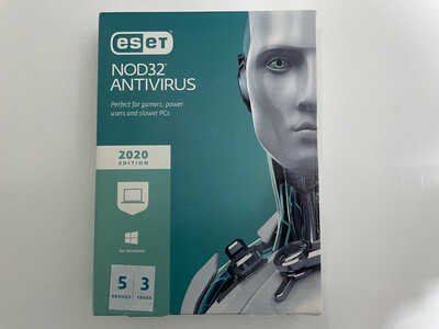 5 User, 3 Year, Eset Antivirus, NOD32