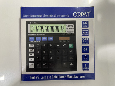 Orpat OT-512GT Calculator
