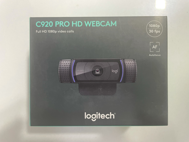 Logitech C920 HD Webcam, 1080p