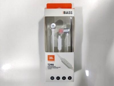 JBL T290 Earphone, Silver