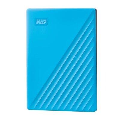 WD 2TB My Passport Portable External Hard Drive, Blue