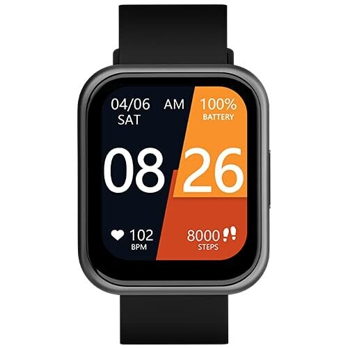 Noise ColorFit Ultra Smartwatch with 1.75 HD , Gunmetal Grey
