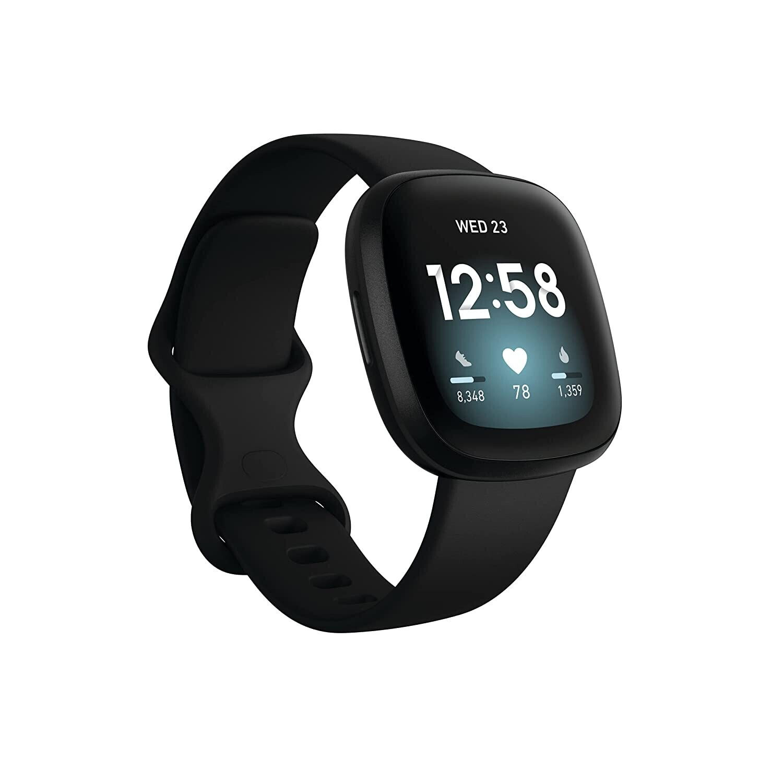 Fitbit Versa 3 Health & Fitness Smartwatch , Black