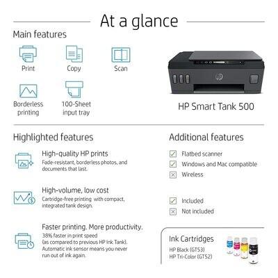 HP Smart Tank 500 Colour Printer