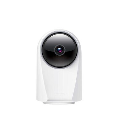Realme 360 Deg 1080p Full HD WiFi Smart Security Camera, White