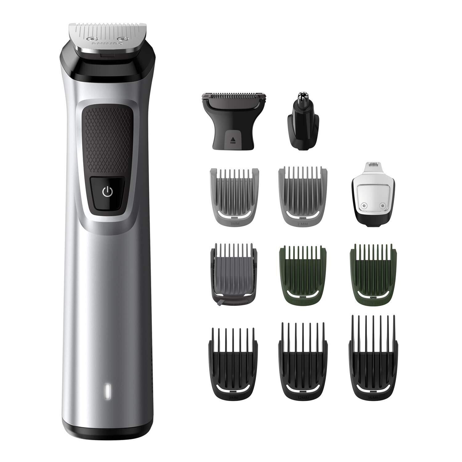 PHILIPS MG7715/15 Multigroom Series 7000 13-in-1, Face, Hair and Body Trimmer/Clipper
