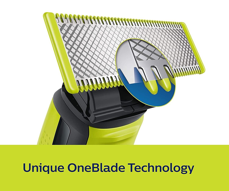 Philips QP2525/10 Cordless OneBlade Hybrid Trimmer