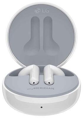 LG Tone Free HBS-FN5U True Wireless Bluetooth Earbuds,White