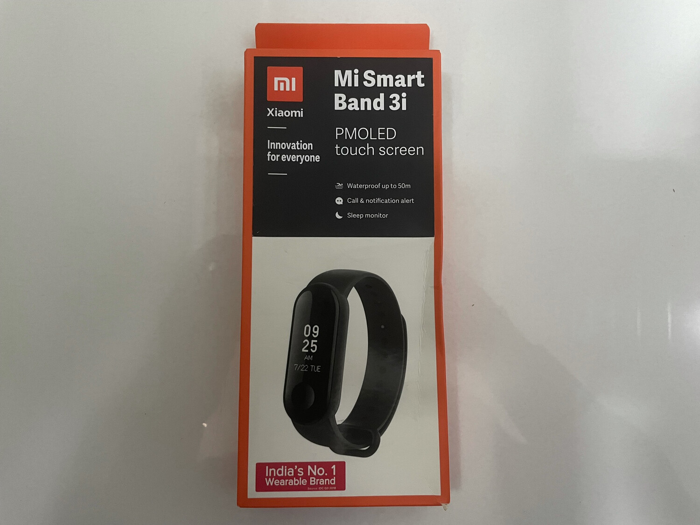 Mi Smart Band 3i PMOLED Touch Screen