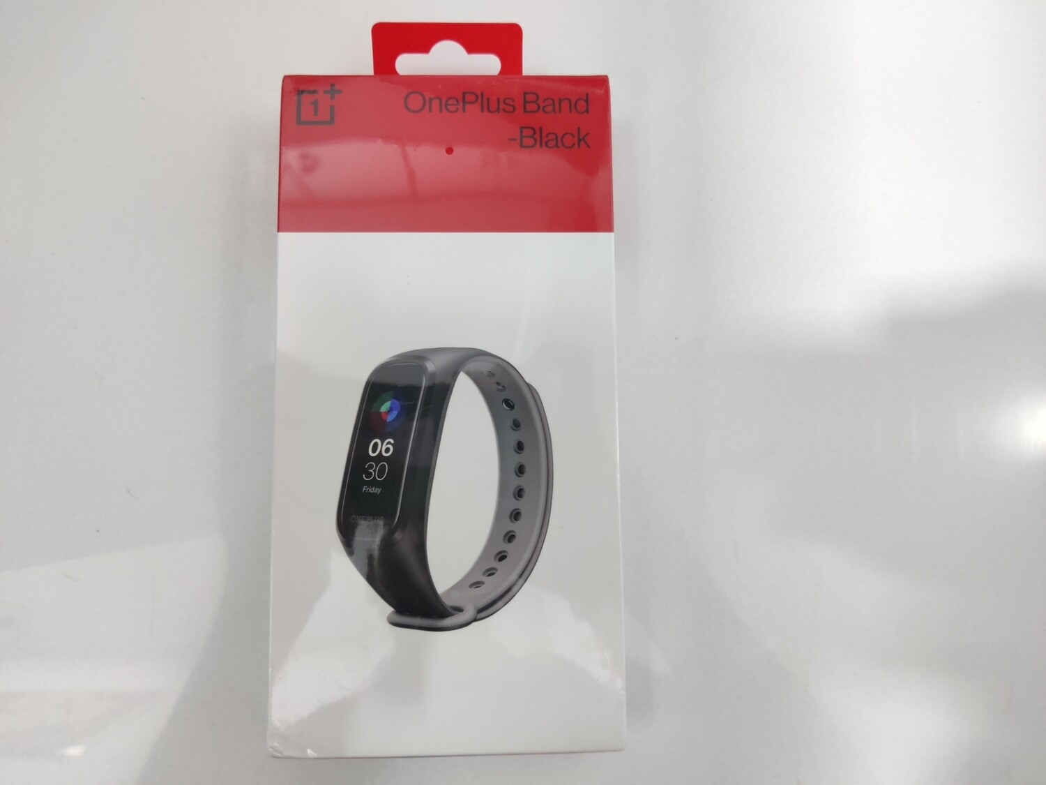 OnePlus Band (Black) + Additional Strap (Blue)