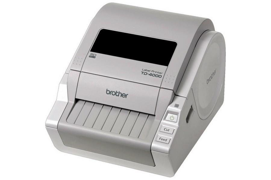 Brother TD-4000 Desktop barcode Label Printer