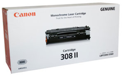 Canon 308 II Large Toner Cartridge, Black