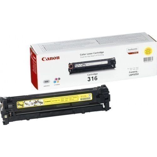 Canon 316 Yellow Toner Cartridge