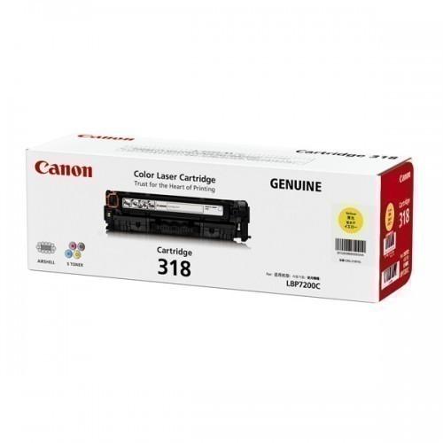 Canon 318 Yellow Toner Cartridge