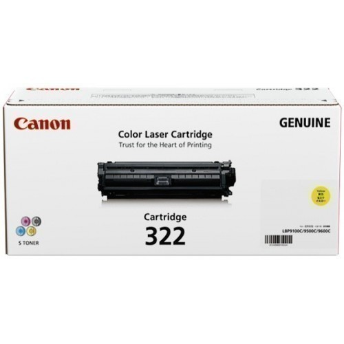 Canon 322 Yellow Toner Cartridge