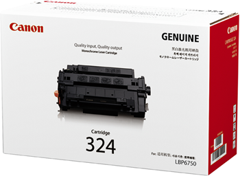 Canon 324 Toner Cartridge, Black
