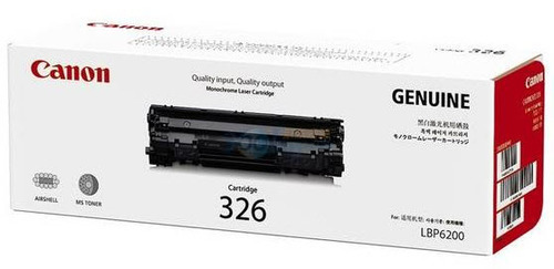 Canon 326 Toner Cartridge, Black