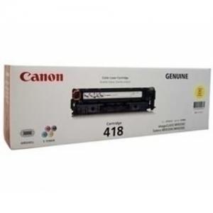 Canon 418 Yellow Toner Cartridge